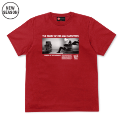 Max Cassettes Tee - Red