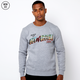 Out of Office Sweat - Grey Marl
