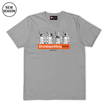 Droidspotting Tee - Sports Grey
