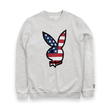 Americana Icon Sweat - Grey Marl