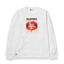 Playboy Cover 2013 L/S Tee - White