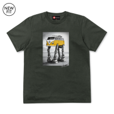 Walking Camper Tee - Khaki