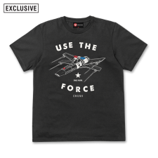 Use The Force Tee - Black