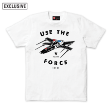 Use The Force Tee - White