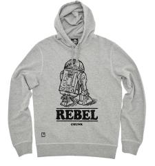 Rebel Pullover Hoody - Grey