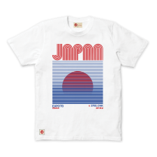Japanese Sunrise Tee - White