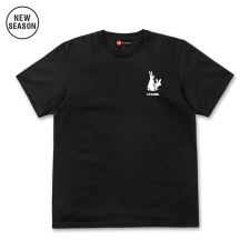 Fun Rabbits Tee - Black