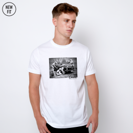 Star Wash Tee - White