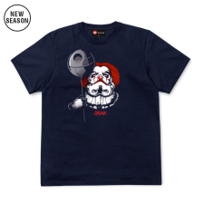 Dark Clown Tee - Navy