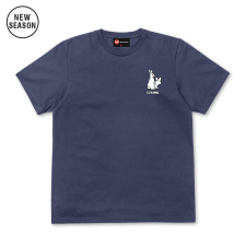 Fun Rabbits Tee - Light Navy