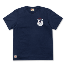 Jap Bear Tee - Navy