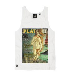 Venus Cover Vest - White