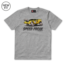 Speed Freak Tee - Grey Marl