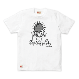 Dancing Star Tee - White