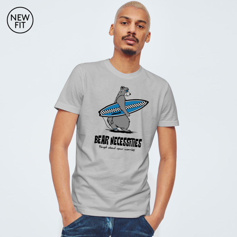 Bear Necessities Tee - Sports Grey