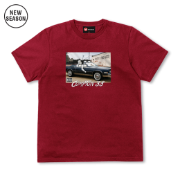 Droids n' the Hood Tee - Stereo Red