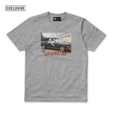 Droids 'n the hood Tee - Grey Marl