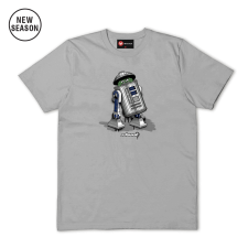 Trash Can Tee - Sports Grey