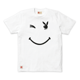 Playboy Wink Tee - White