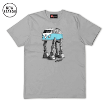 Solo Walking Camper Tee - Sports Grey