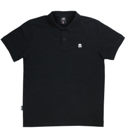 Trooper Crest Polo - Black