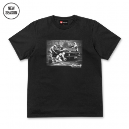 Star Wash Tee - Black