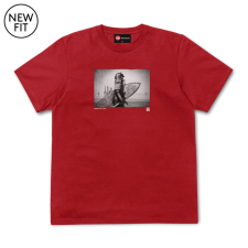 Hiroto Surf Tee - Red
