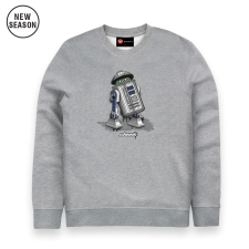 Trash Can Sweat - Grey Marl