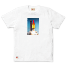 Ice Rocket Tee - White