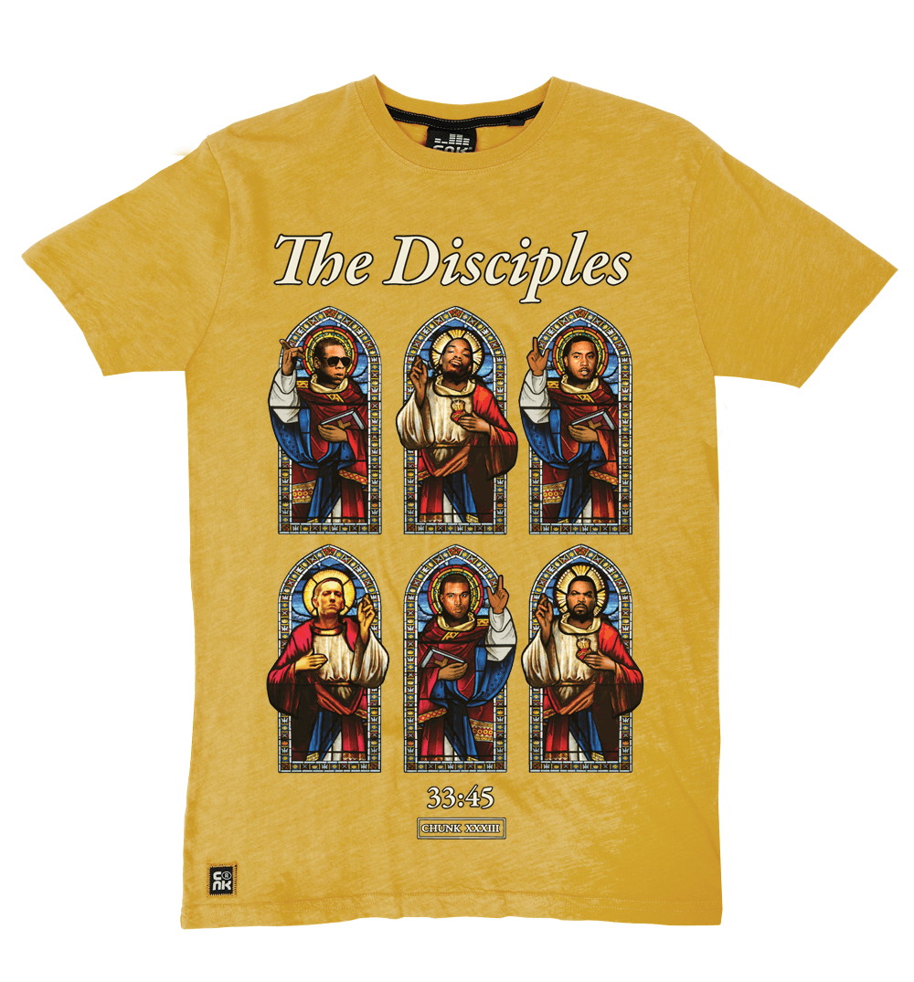The Disciples Tee - Ochre