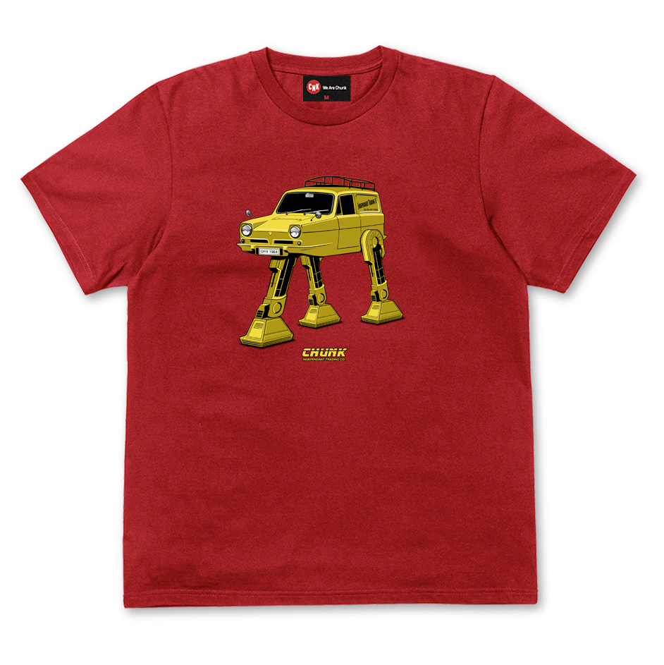 Trott Mobile Tee - Red